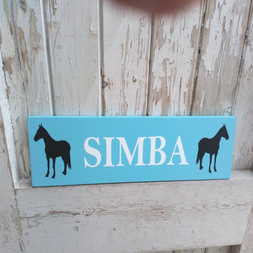 Outdoor Personalised Stable Sign